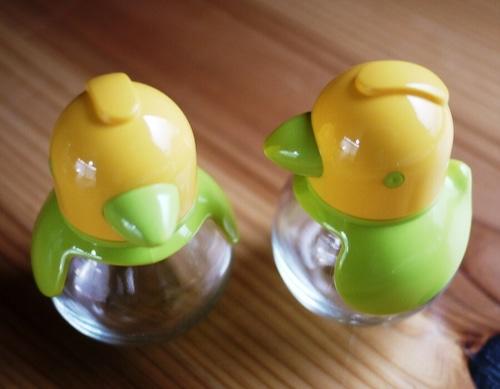 ドイツ STOHA ソルト&ペッパー  小鳥の容器セット  レトロ