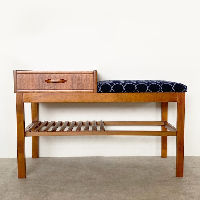 Telephone bench with mina perhonen dop tambourine / OH014