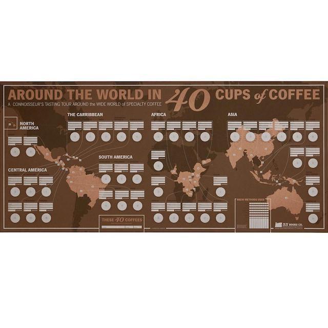 33 BOOKS - コーヒー・テイスティング・マップ