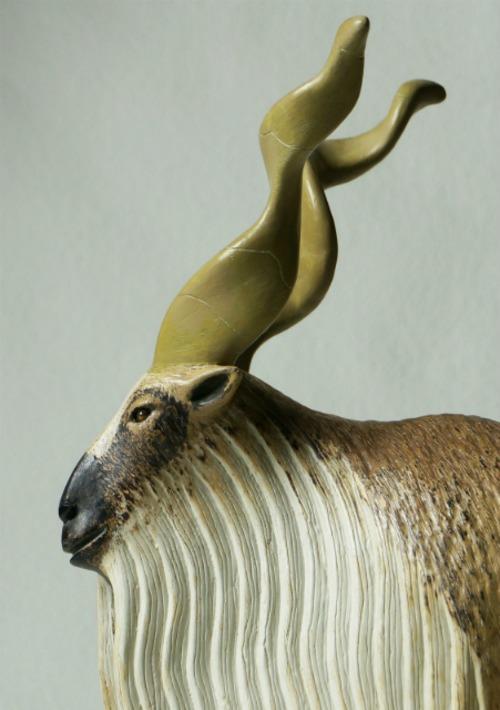 COOL氏 NO.7「Markhor Goat」ANIMALSシリーズ