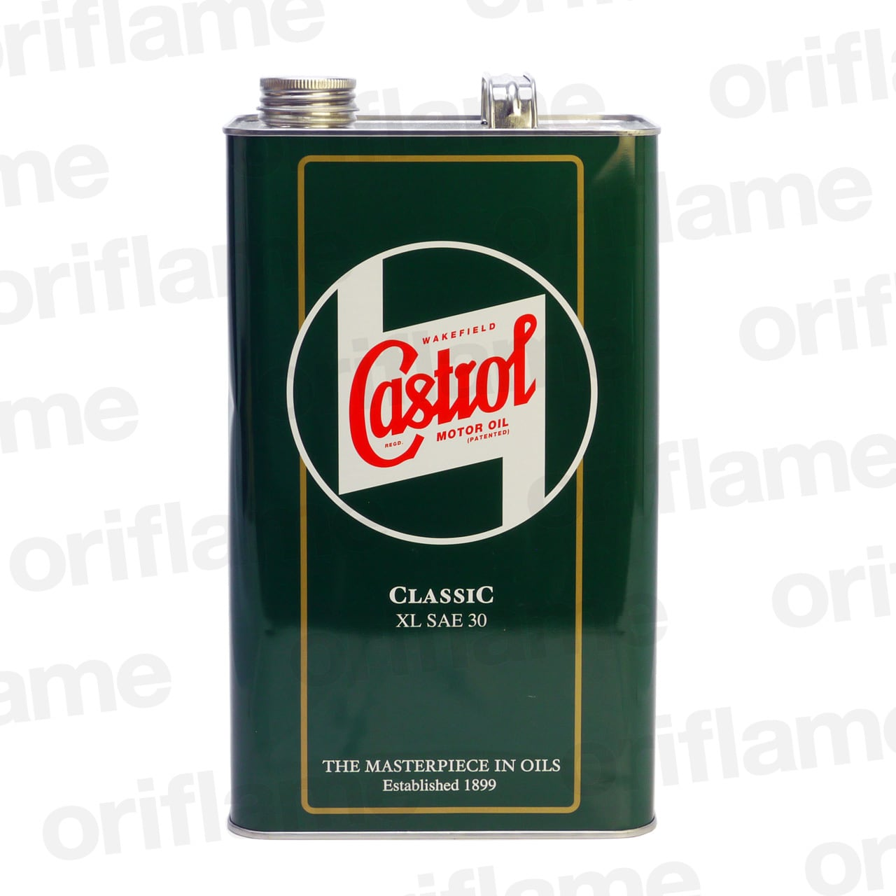 Castrol・カストロール・クラシック・オイル XL SAE30  5L 鉱物油