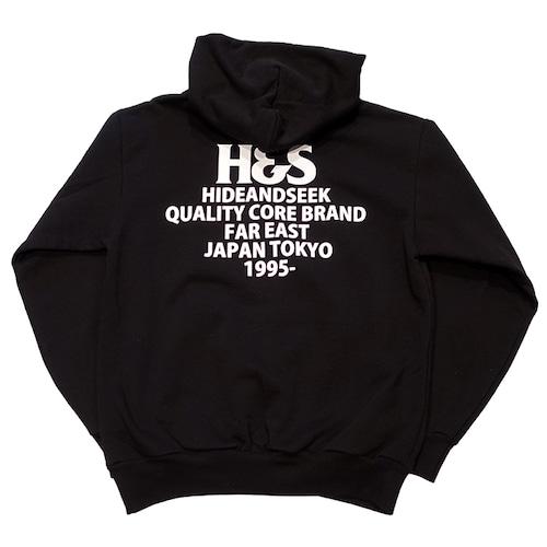 HIDEANDSEEK(ハイドアンドシーク) / LOGO HOODED SWEAT SHIRT(HEAVY)(HC-100621)(スウェットパーカ)