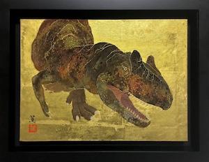 再入荷希望の方ご相談下さい。     水島 篤「曲折-アロサウルス-」