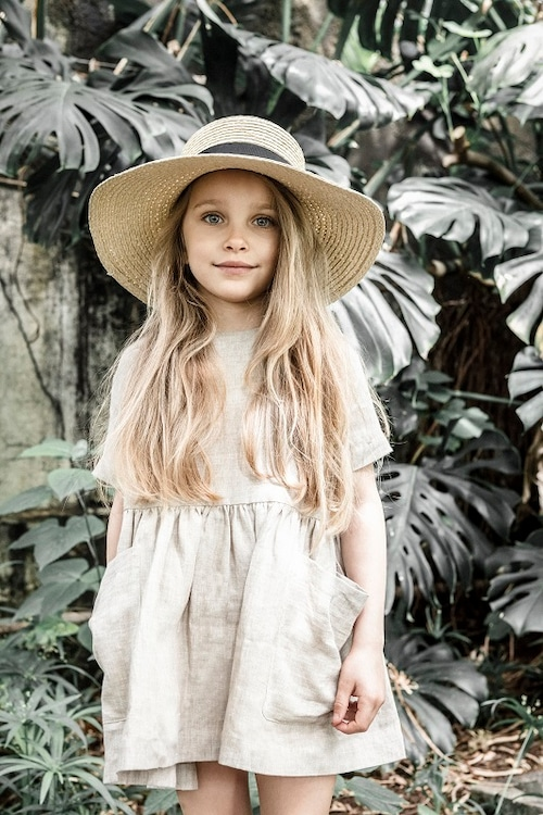 AS WE GROW Pocket Dress (3-5Y)