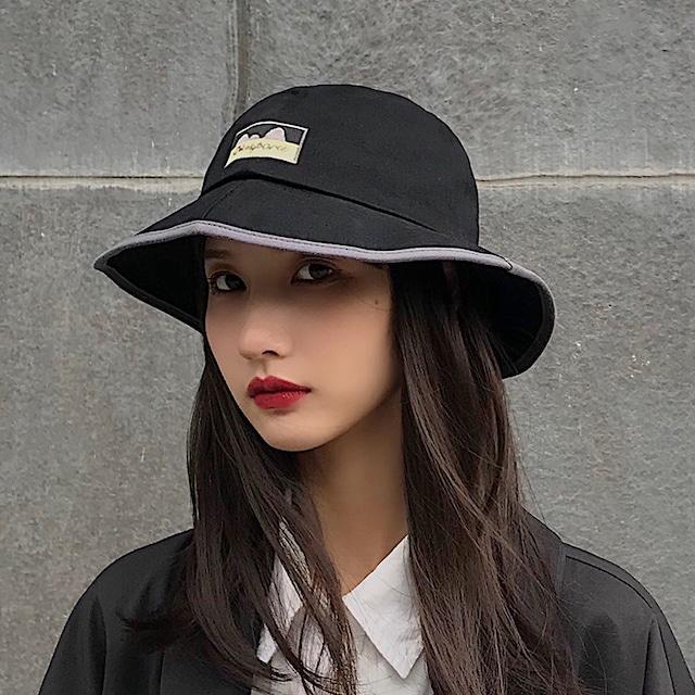 【小物】プリントサークルエイジング加工刺繍帽子26046836