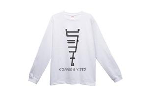 BGMオリジナルロングTシャツ(COFFEE&VIBES)