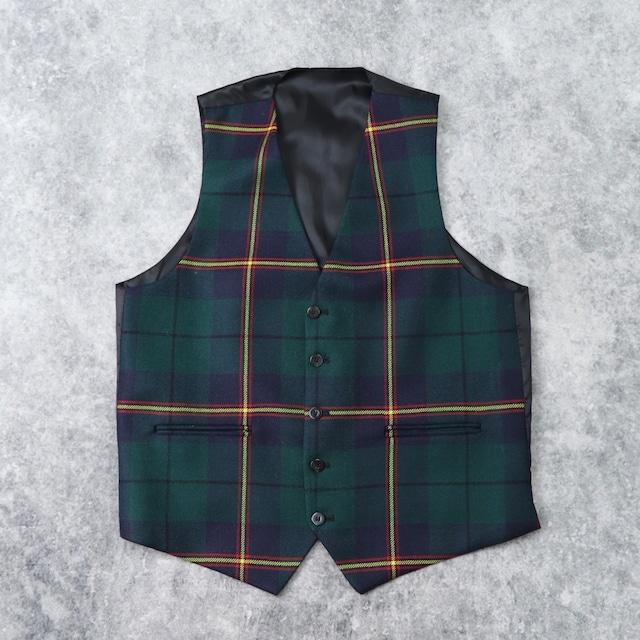 Unknown Wool   Vest b224