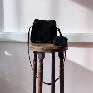 Vintage LOEWE リアルムートンバッグ