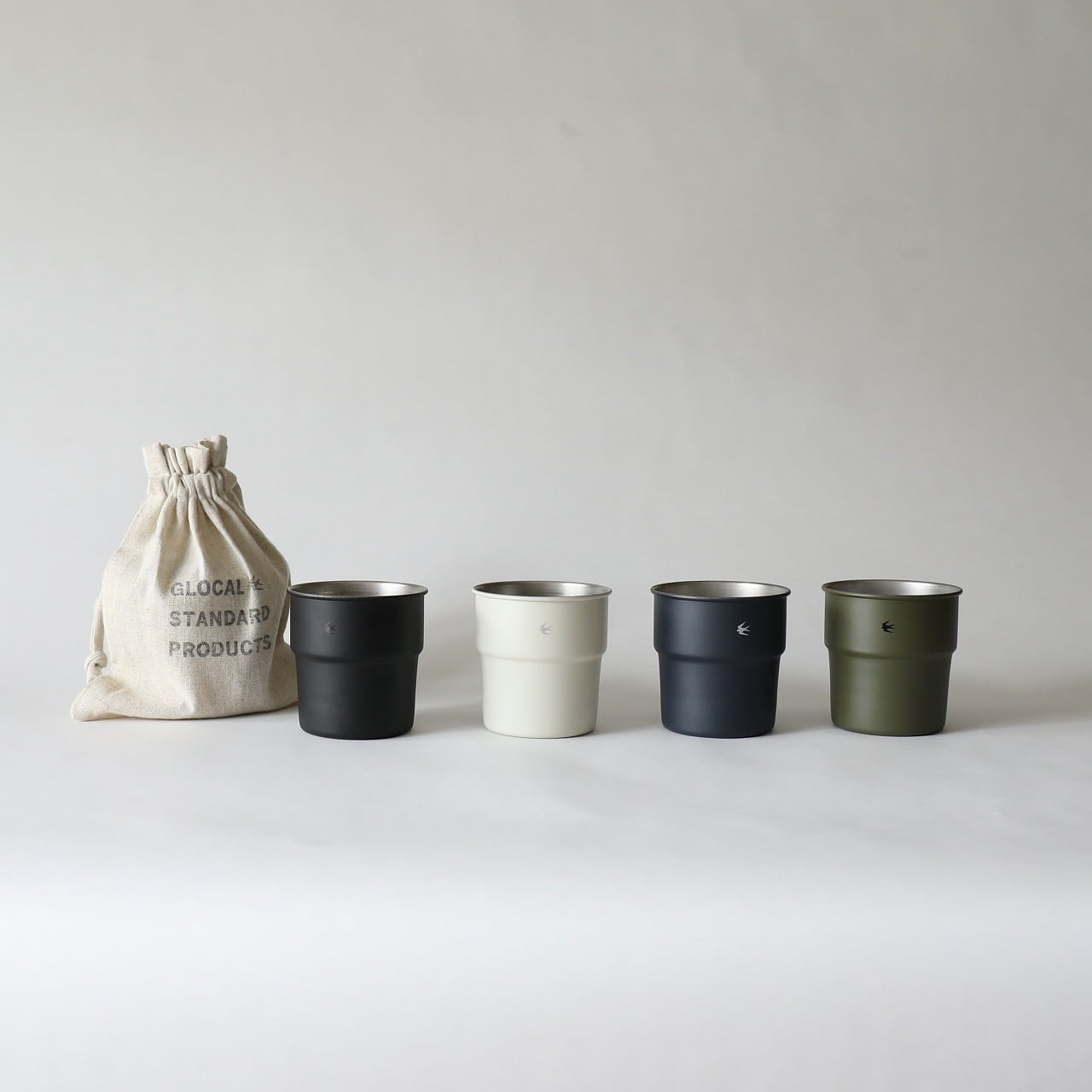 GLOCAL STANDARD PRODUCTS (グローカルスタンダードプロダクツ) TSUBAME (ツバメ) Stacking cup スタッキングカップ colors