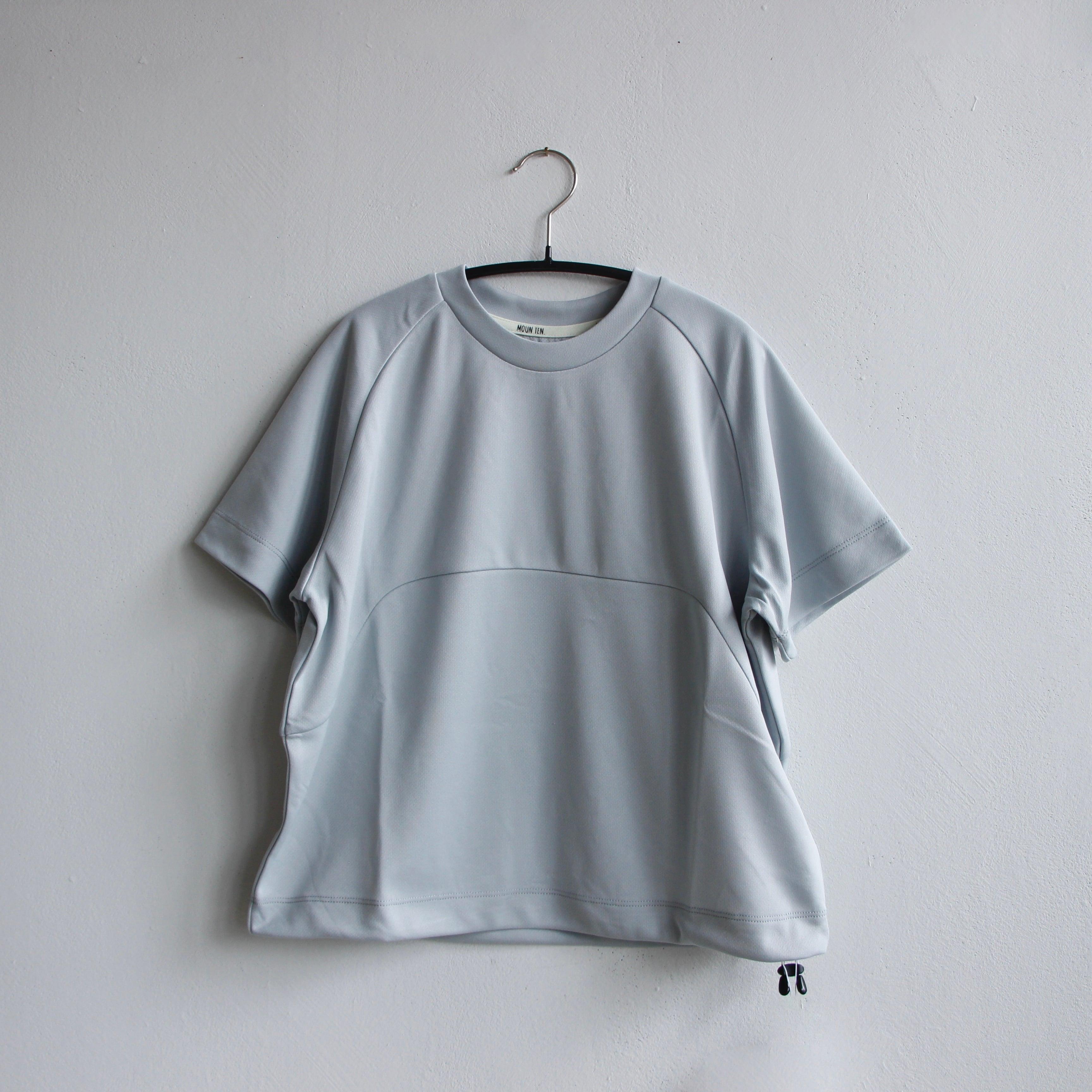 《MOUNTEN. 2021SS》drawcord T / gray / size0 (145-155cm程度)