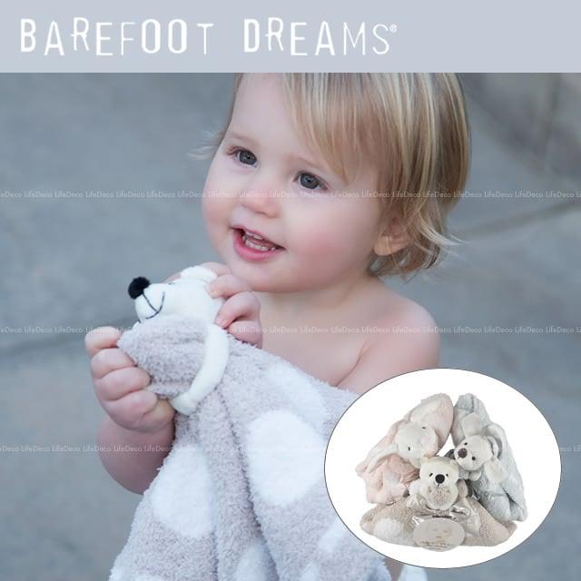 Barefoot Dreams ベアフットドリームス CozyChic コージーチック ふわふわ ぬいぐるみ付 ドリームミニブランケット