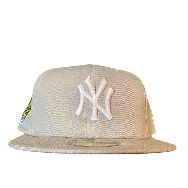 NEW ERA New York Yankees 1996 World Series 59Fifty Fitted / Grey×White (Gray Brim)