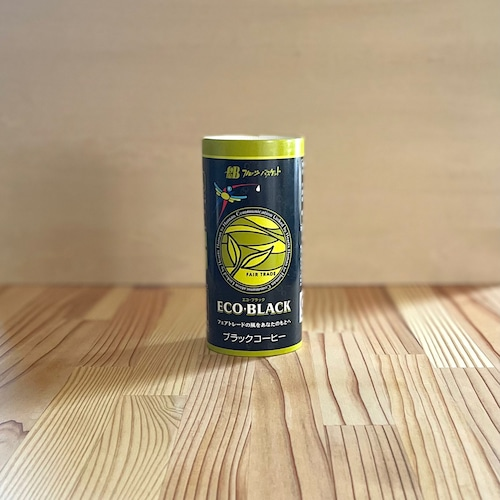 フェアトレード・カートカンコーヒー ECO・BLACK