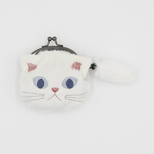 猫小銭入れ(ファミネコ小銭入れ)クリーム
