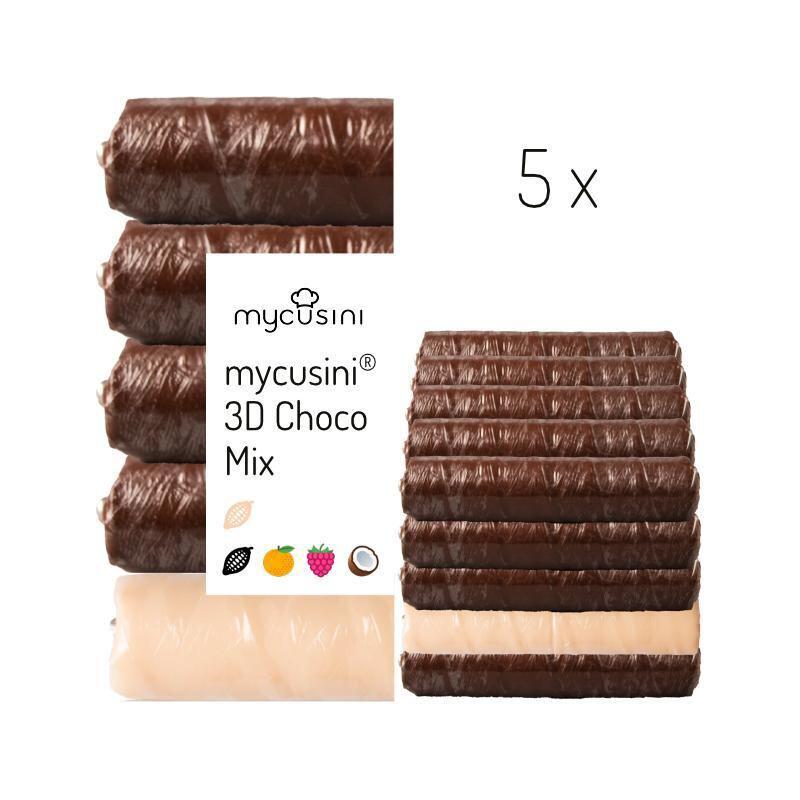 mycusini 3Dチョコ フレーバーミックス 5パック