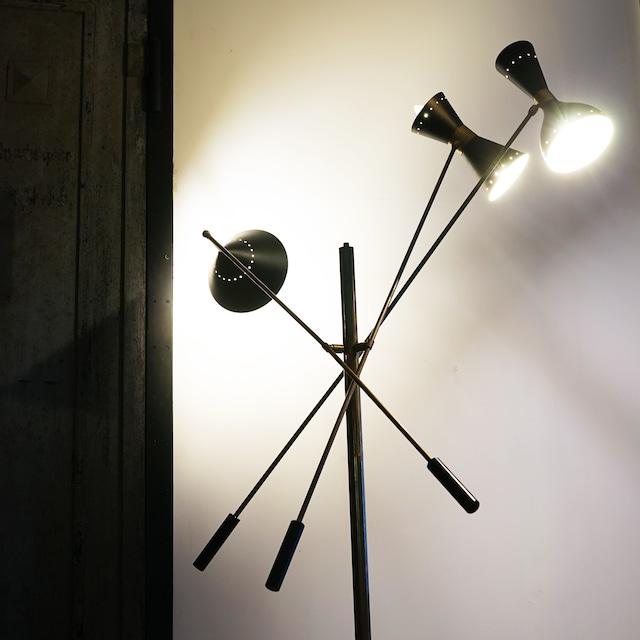 #01-11 Vintage Stand Stilnovo light