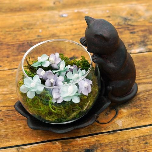 猫花瓶(のぞき猫)