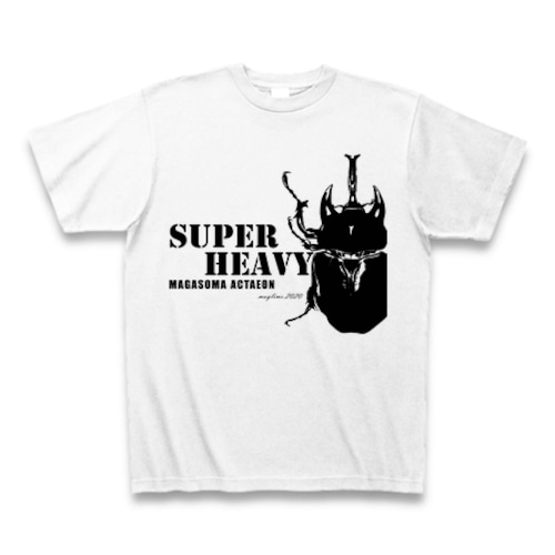 アクティオンゾウカブト Tシャツ -maylime- オリジナルデザイン ホワイト