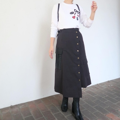 カーゴスカート(ブラック)