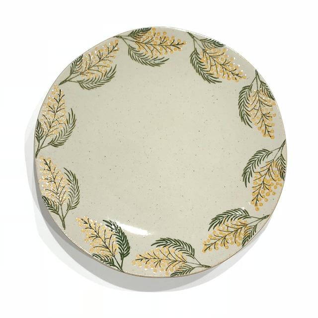 ミモザ  7寸皿
