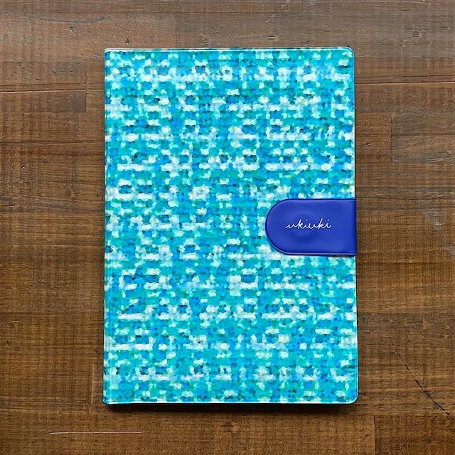 ウキウキノート(水害対策のフェーズフリーノート)ブルー