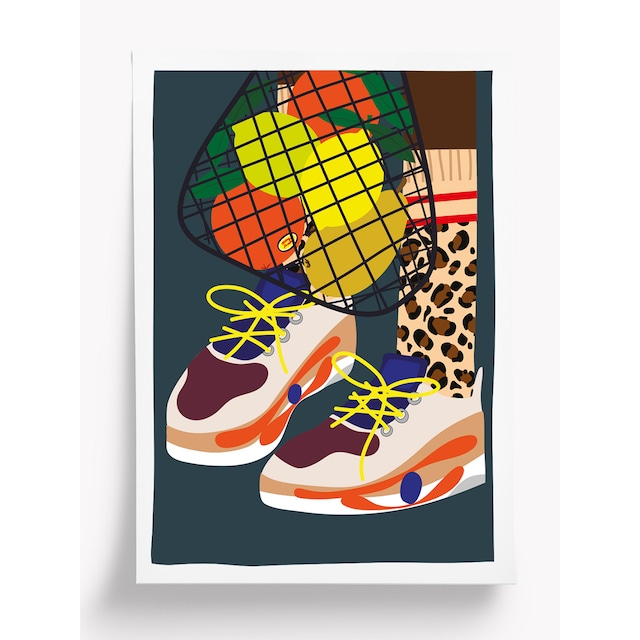 Taxi Brousse - Poster - SHOES (A4)