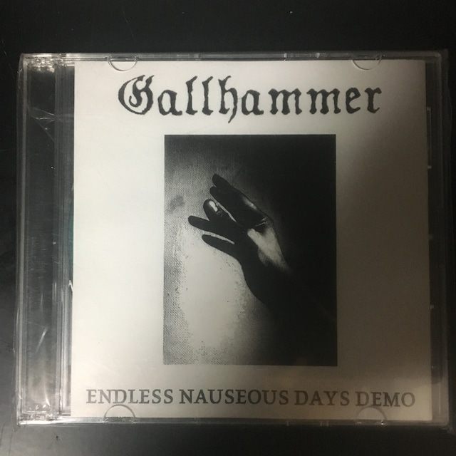 Gallhammer – Endless Nauseous Days Demo(CDR)USED