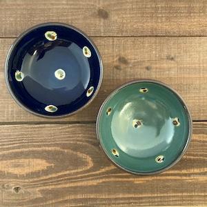 5寸まんじゅう鉢/蝋抜き