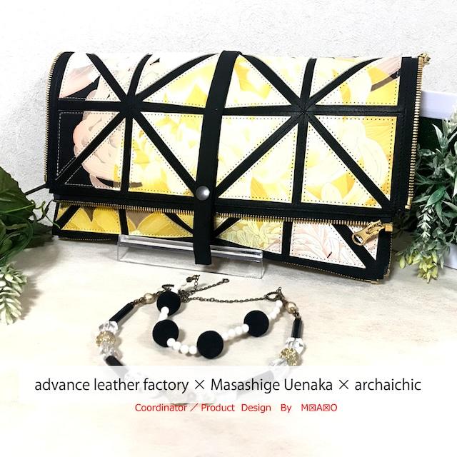 T・U・N・A・G・M・U Art Cube Solide - Réticule 白菊  Clutch
