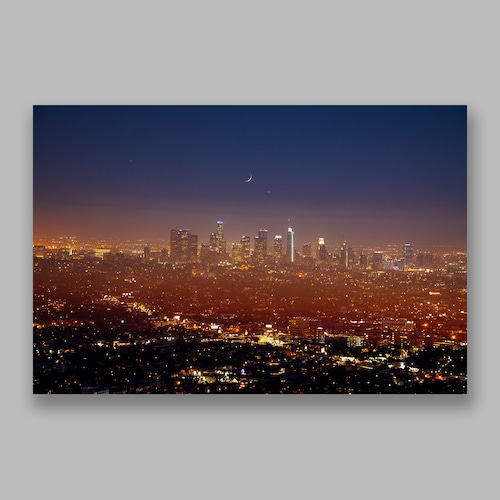 Postcard「Deep Night」13cm×18cm Original Print