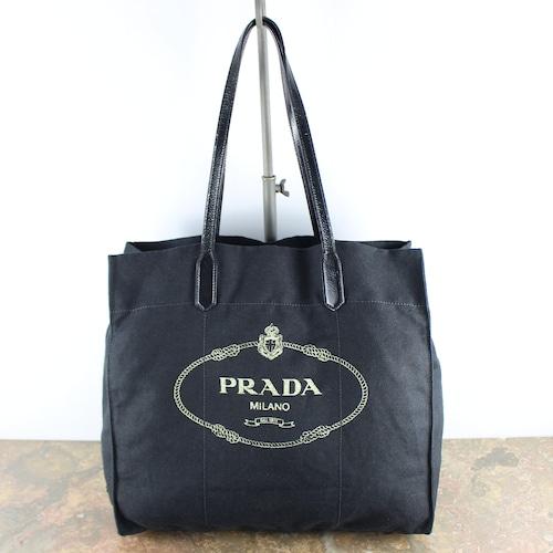 .PRADA LOGO CANVAS TOTE BAG/プラダカナパロゴキャンバストートバッグ2000000055190
