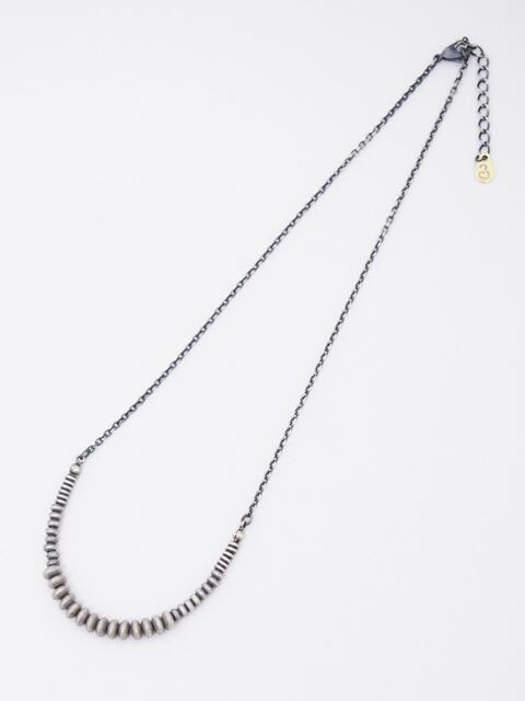 EGO TRIPPING (エゴトリッピング) GURADUALLY NECKLACE / SILVER 693404-98