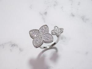brilliant flower ring