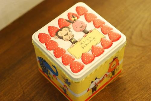 ギフトセット どうぶつケーキ缶セット