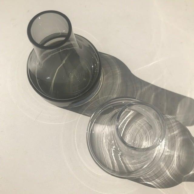 BOB CRAFT ボブクラフト ファゴット Mグレー  フラワーベース 花瓶