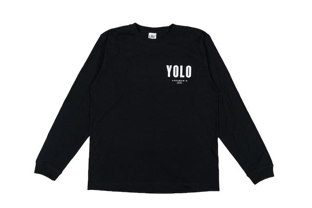 【YOLO surf long sleeve】/ black