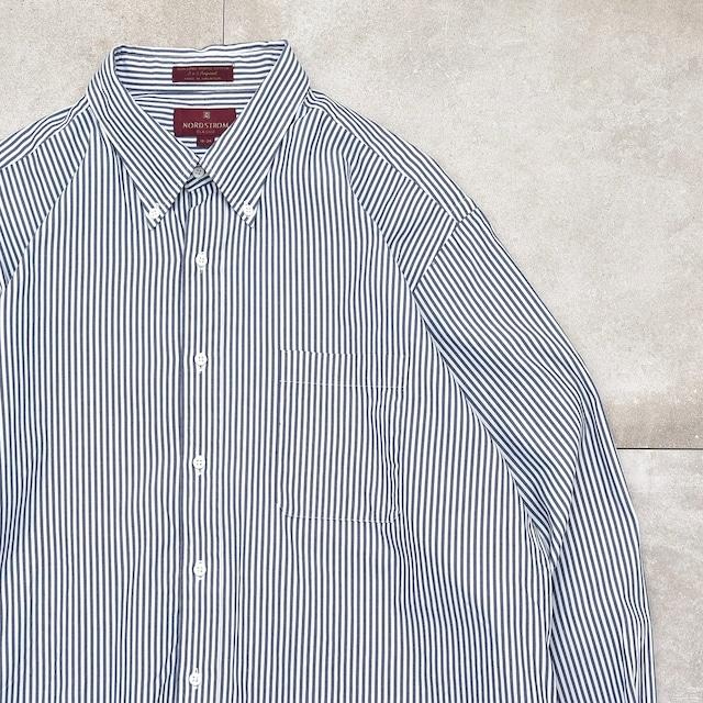 00s NORD STROM london stripe BD shirt