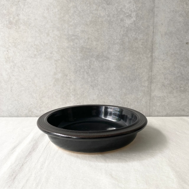 4th-market  noce 8inch耐熱シチュー皿(黒)