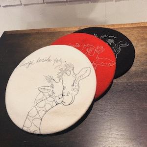 【Barairo no Boushi】キリンの親子   ベレー       L007538