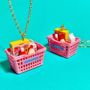 [NEW]買い物かごのネックレス
