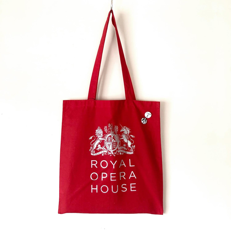 Royal opera Remade tote bag / TB-004RD