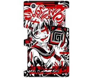 (Xperia Z5 SO-01H/SOV32/501SO)Tシャツ図柄