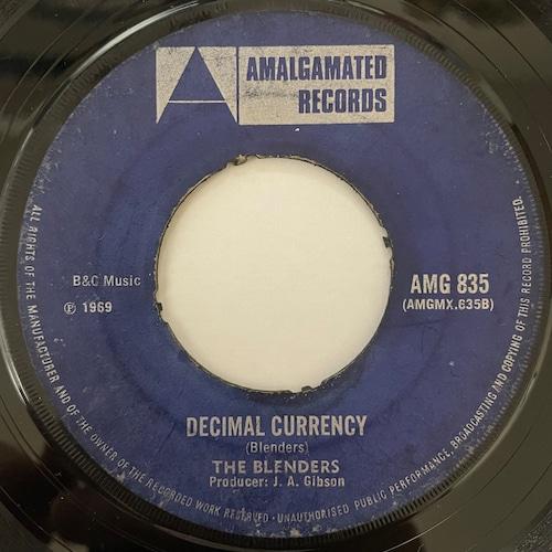 The Blenders - Decimal Currency【7-20794】