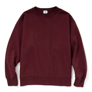 """Just Right """"Those Days Crew Neck"""" Burgundy"""