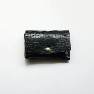 mini wallet - bk - crack