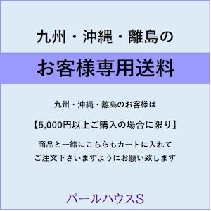【九州・沖縄・離島】のお客様専用送料
