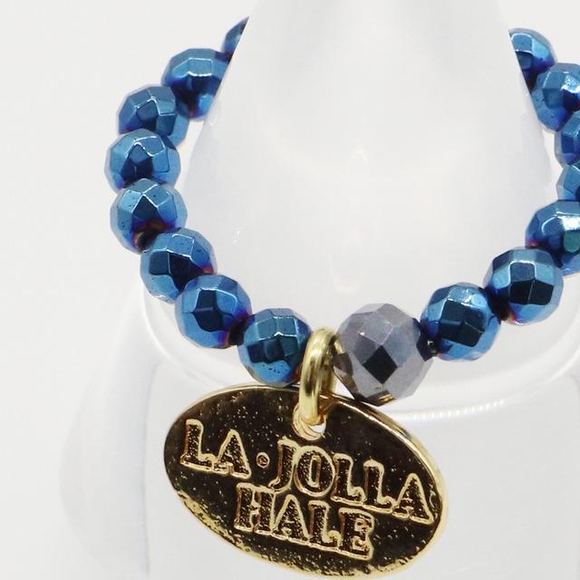 ブルーヘマタイト×テラヘルツ鉱石 リング:ARNABHLP22