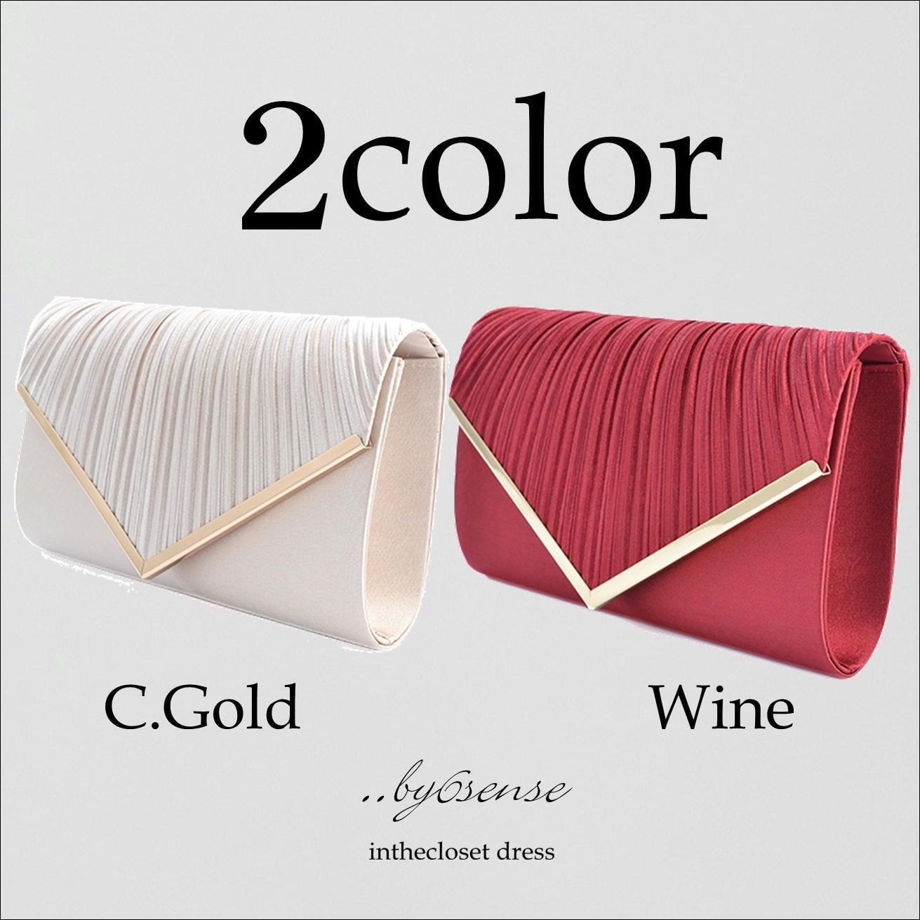2color パーティーバック0405-6【結婚式・二次会・謝恩会・パーティーバック】
