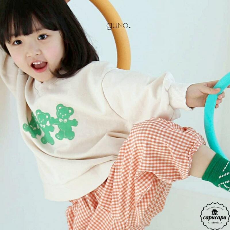 «sold out» guno bear sweat 3colors ベアースウェット