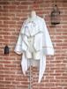 LARP ファンタジー 聖なる儀式のローブマント ホワイト